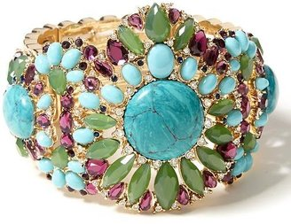Banana Republic Turquoise Stretch Cuff