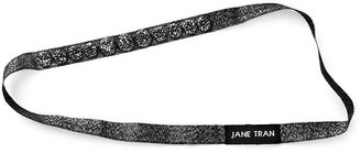 Jane Tran Hair Accessories Crystal Bead Shimmer Headband, Black 1 ea