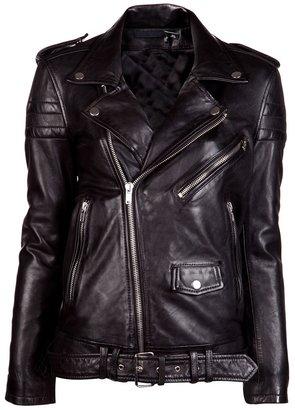 BLK DNM Masculine motorcycle jacket