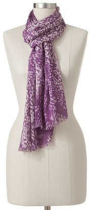 JLO by Jennifer Lopez Kohl's cares animal scarf