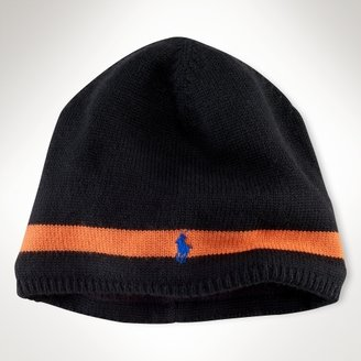 Active Stripe Wool Hat