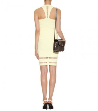 Alexander Wang SUSPENSION STRETCH DRESS WITH CUT-OUT DETAIL