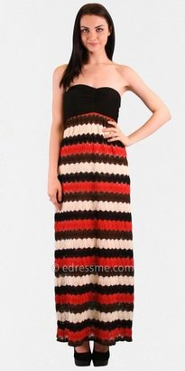 VAVA by Joy Han Audrey Sweetheart Neck Maxi Dresses from