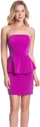 GUESS Peplum Party Dress