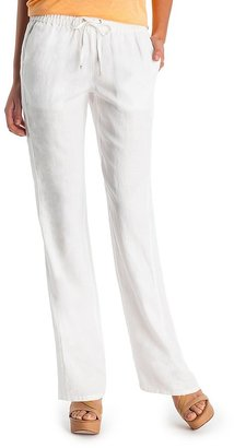GUESS by Marciano Tracy Linen Pant – Petite Inseam