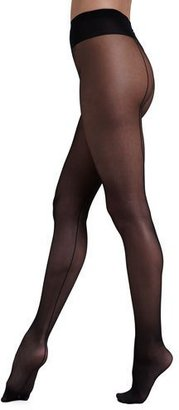 Wolford Individual 10 Back Seam Tights $57 thestylecure.com