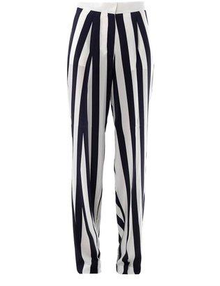 Stella McCartney Chelsy wide-leg silk trousers