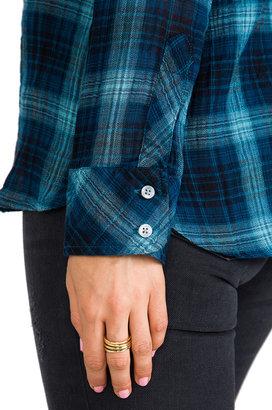 C&C California Two Pocket Plaid Shirt