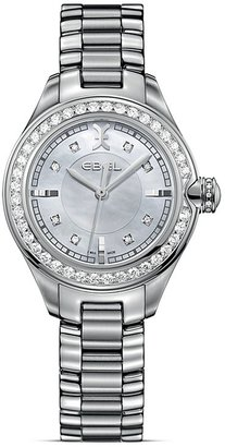 Ebel Onde Stainless Steel Diamond Studded Watch, 30mm $7,000 thestylecure.com