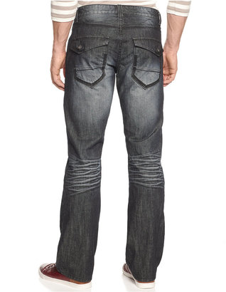 INC International Concepts Jeans, Core Lenny Copenhagen Slim Fit Bootcut Jeans