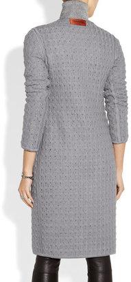Missoni Reversible bouclé and crochet-knit coat