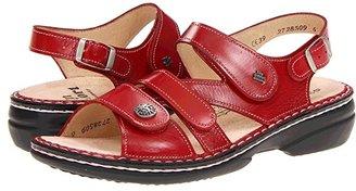 Finn Comfort Gomera - 82562 (Black Leather) Women's Sandals