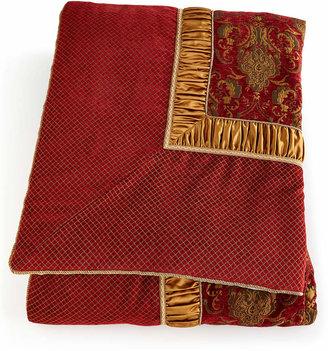 Austin Horn Collection Scarlet King Comforter