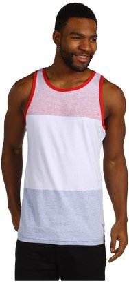 O'Neill Pabst Blue Ribbon About That Time Tank Top (White) - Apparel