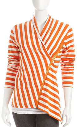 Joan Vass Striped Blouse