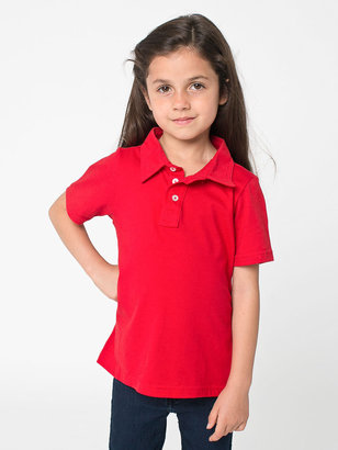 American Apparel Kids' Fine Jersey Leisure Shirt