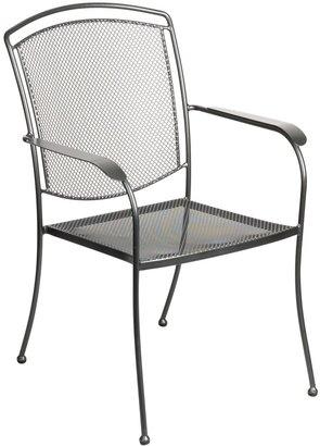John Lewis & Partners Henley by KETTLER Garden Dining Armchair, Grey