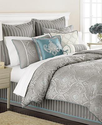 Martha Stewart CLOSEOUT! Collection Briercrest 9 Piece King Comforter Set