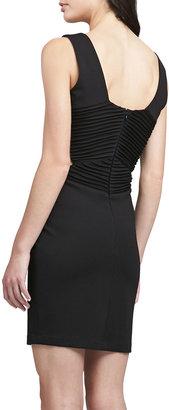 Parker Claudia Ribbed Cutout Dress