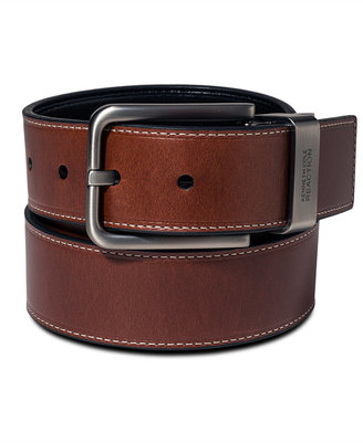 Kenneth Cole Reaction Oil-Tan Reversible Casual Big & Tall Belt