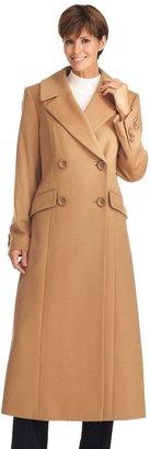 Katherine Kelly cashmere long coat