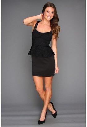 Gabriella Rocha Giana Peplum Dress (Black) - Apparel