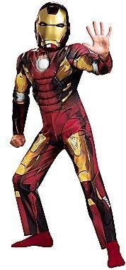 Iron Man The AvengersTM Muscle Child Costume