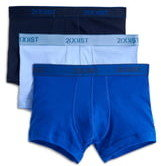2xist 3-Pack Cotton No Show Trunks