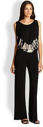 Young Fabulous & Broke Dorinda Tie-Dyed Jersey Jumpsuit
