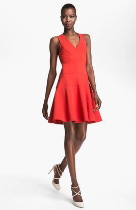 Robert Rodriguez Seamed Fit & Flare Dress