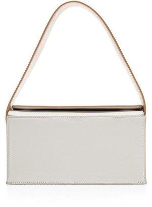 J.W.Anderson Two-Tone Leather Camera Case Bag Peach / White