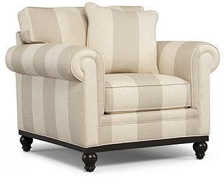 """Martha Stewart Collection Fabric Arm Chair, Club: Custom Colors 39""""W x 38""""D x 31""""H"""