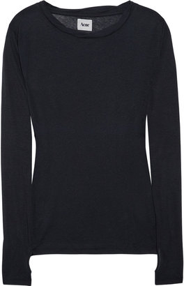 Acne Cotton-jersey top