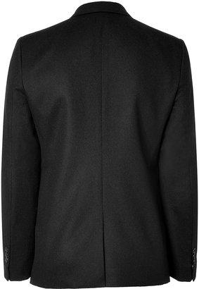 Marc Jacobs Camel Hair Blazer in Black