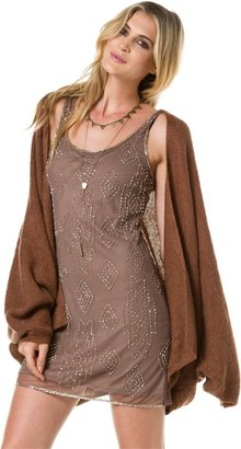 Angie Slouchy Open Front Sweater