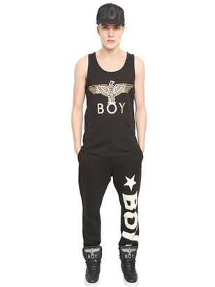 Boy London 2 Pack Boy Eagle Foil Print Tank Top