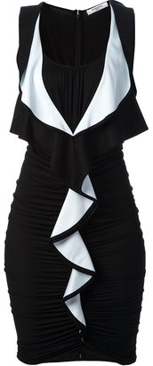 Givenchy ruffle front dress