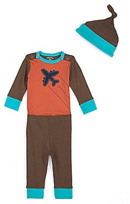 Offspring Newborn Plane Bodysuit & Pants Set