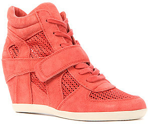 Ash Shoes The Bowie Mesh Sneaker in Coral