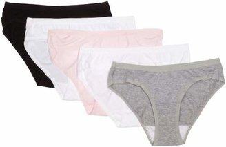 Vanity Fair Women's True Comfort Cotton Stretch Five-pack Hipster Panties 18343 $6.52 thestylecure.com