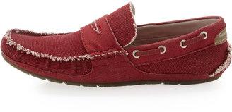 True Religion Indie Canvas Slip-On Loafer, Red