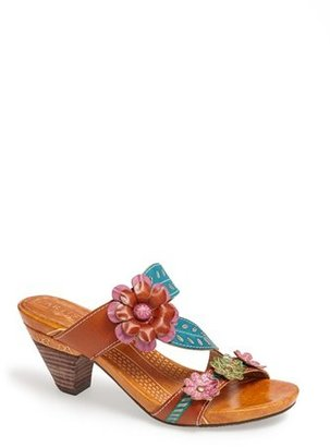 Spring Step 'Lona' Leather Sandal