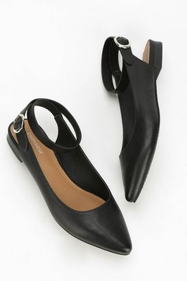 Urban Outfitters Cooperative Cross Ankle-Strap Flat