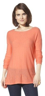 Mossimo Women's Crew Neck Pullover Sweater - Assorted Colors