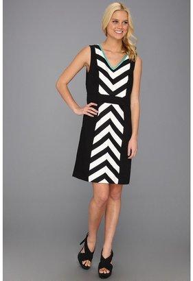 rsvp Maci Dress (Black/White) - Apparel