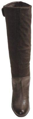 CK Calvin Klein Gemma Tall Leather Boots (For Women)