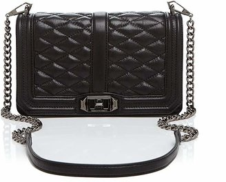 Rebecca Minkoff Quilted Love Crossbody $295 thestylecure.com