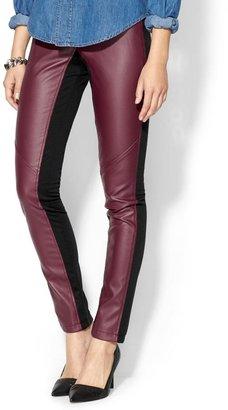 Rachel Zoe Tinley Road Vegan Leather Pieced Pant