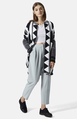 Topshop Straight Leg Crop Pants