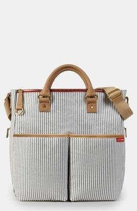 Infant Skip Hop 'Duo' Diaper Bag - Grey $70 thestylecure.com